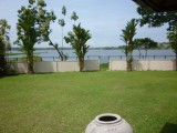 View of the lake from the Bungalow | Serenity Lake Front Villa Bolgoda | Sri Lanka Colombo