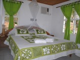 Bed, Two Bedroom Chalet | Koko Grove Chalets | Mahe, Anse Royale, Seychelles