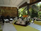 Patio, One Bedroom Chalet | Kokogrove Chalets | Mahe, Anse Royale, Seychelles
