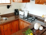 Kitchen, One Bedroom Chalet | Kokogrove Chalets | Mahe, Anse Royale, Seychelles