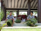 Weaving Baskets | Amoa Resort | Savaii, Samoa