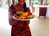 Welcome Fruit Plate | Amoa Resort | Savaii, Samoa