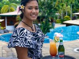 Poolside Happy Hour | Amoa Resort | Savaii, Samoa