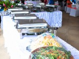 Salad & Hot Buffet | Amoa Resort | Savaii, Samoa